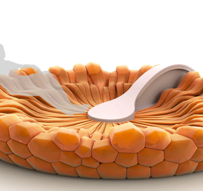 Piccells concept for cell-based inflatable furniture